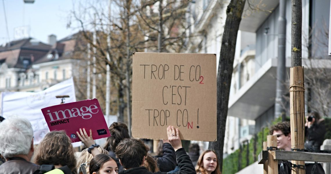 Grève du climat à Lausanne (avril 2019)