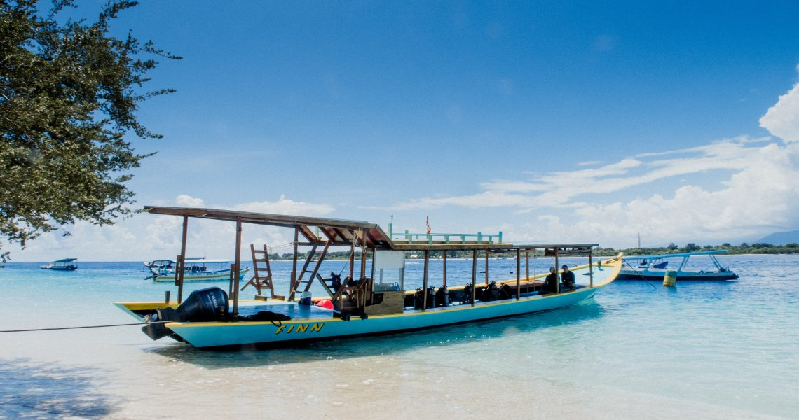 île gili indonésie